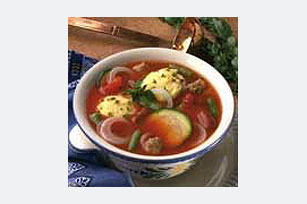 Italian Soup with Dumplings Image 1