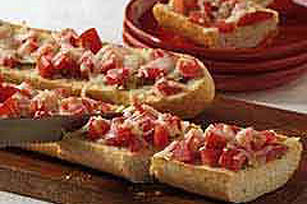 Italian Tomato & Cheese Bread Image 1