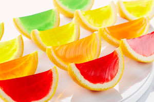 JELL-O Fruit Slices Image 1