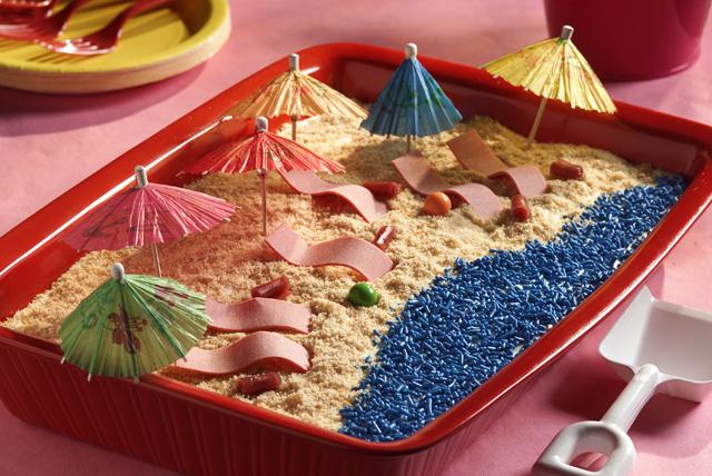 JELL-O Beach Dessert
