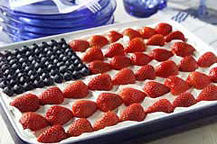 JELL-O® Easy Patriotic Flag Dessert