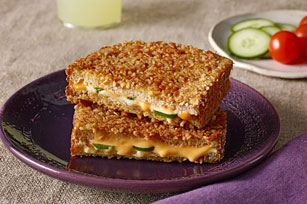 Sandwich fondant au piment jalapeño