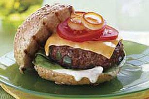 Hamburguesa con salsa BULL'S-EYE® Image 1