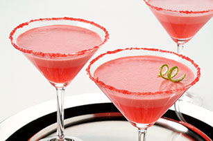 "JELL-O Strawberry Breezer ""Mousse-tini"""