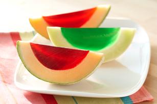 Collation dans un melon