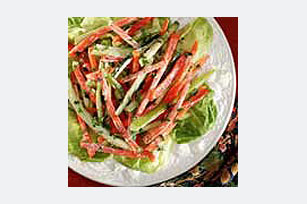 Julienne Vegetable Salad Image 1