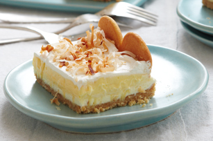 Layered Coconut Cream Cheesecake Bars Image 1