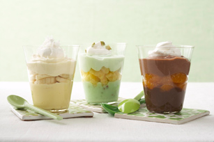 Layered Pudding Cups