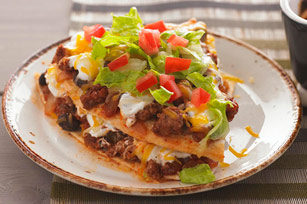 Horneado de tortillas en capas