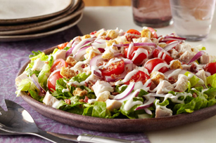 Layered Turkey BLT Salad