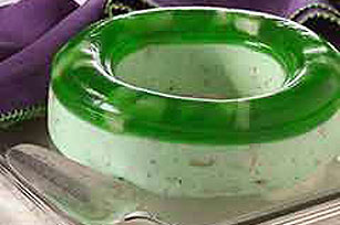Layered Pear-Cream Cheese Mold Image 1