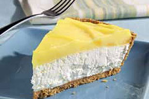 Layered Pineapple-Lemon Cheesecake Pie