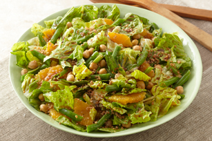 Leafy Bean, Bulgur & Orange Salad