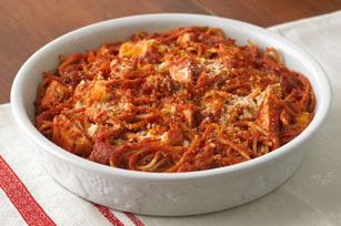 Pâté aux restes de spaghettis Image 1