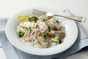Lemon-Broccoli Rice with Chicken Image 1