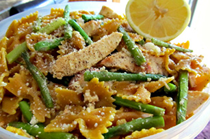Lemon Chicken and Asparagus Farfalle
