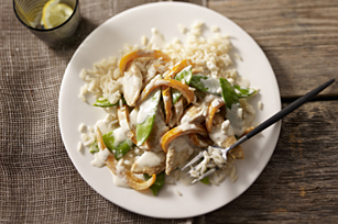 Lemon Chicken with Snow Peas & Peppers Image 1