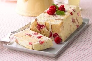 Lemon-Raspberry Semi-Freddo