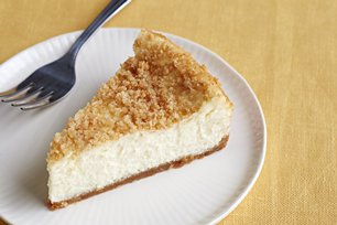 Lemon Sour Cream Cheesecake Image 1