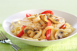 Lemon Italian Chicken with Noodles