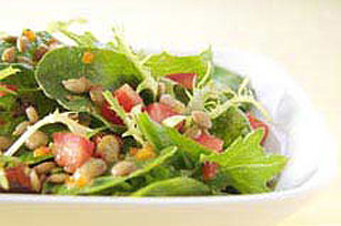Lentil Salad with Sunflower Kernels