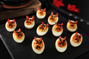 Little Devil Deviled Eggs
