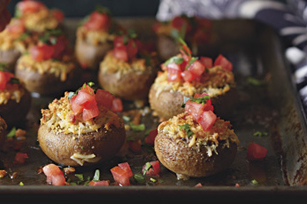 Little Stuffed Mushrooms Recipe