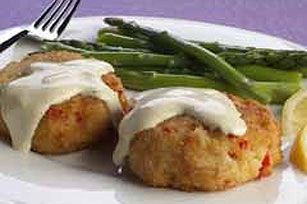 Louisiana Crab Cakes Image 1