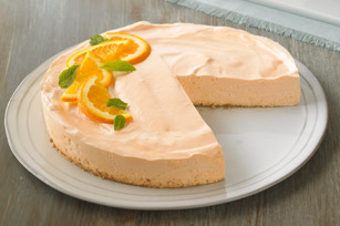 Low-Fat Orange Dream Cheesecake Image 1