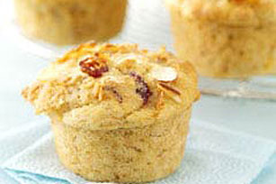 Low-Fat Cranberry Orange Muffins Image 1