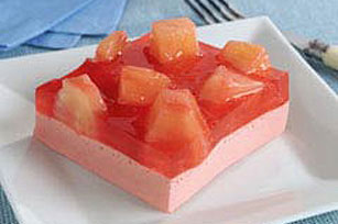 Low-Fat Fruit 'n Juice Squares