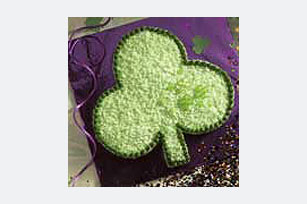 Lucky Shamrock Cut-Up Cake