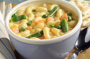 Mac 'N Double Cheese Soup Image 1