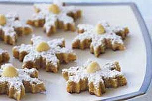Macadamia-Lime Snowflakes