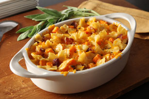 Macaroni & Cheese with Butternut Squash & Bacon