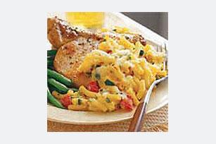 Macarrones al horno con queso y chiles Image 1