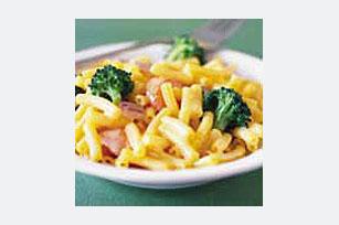 Macarrones con queso, pollo y brócoli Image 1