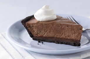 HEALTHY LIVING Triple-Chocolate Dream Pie