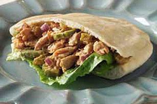Madras Salmon Salad Sandwiches Image 1