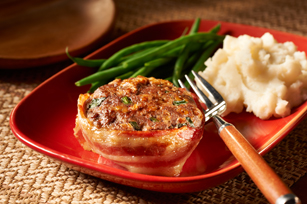 Smart-Choice Make-Ahead Cheesy Bacon Mini Meatloaves Image 1