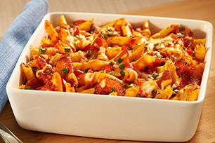 Make-Ahead Pizza-Pasta Bake Image 1