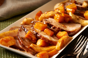 Make-Ahead Spiced Pork & Apple Roast