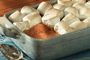 Mallow-Topped Sweet Potato Bake Image 1