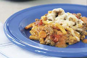 Easy cheesy beef casserole recipe kraft recipes easy cheesy beef casserole recipe forumfinder