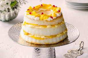 Mango Cloud Cake
