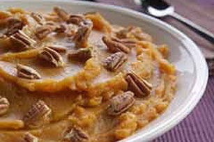 Maple Mashed Sweet Potatoes Recipe Image 1