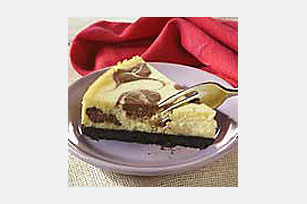 Marbled White Chocolate Cheesecake Image 1
