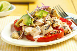 Margarita-Grilled Chicken Salad