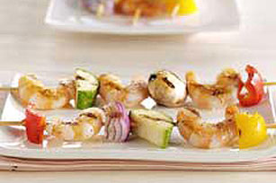 Margarita Shrimp and Vegetable Kabobs
