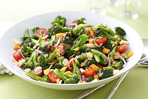 Marinated Broccoli-Tomato Salad